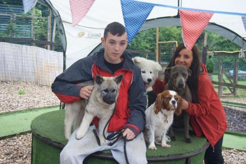 Saga , Alfie , Poppy and Daisy